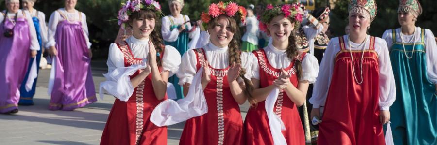Главный праздник «Зеленых святок» впервые прошел в Астрахани