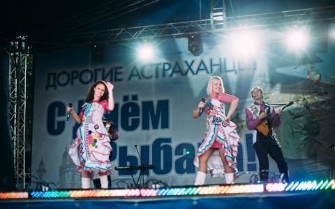 В Астрахани отметили День рыбака