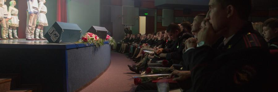 Ведущие творческие силы региона поздравили с Днем Полиции сотрудников регионального УМВД