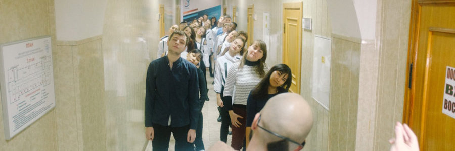 Статья Российской газеты «Танец с папками» про наш проект «Производственная гимнастика «Танцуют ВСЕ!»