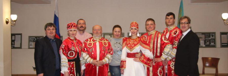 Ансамбль  русских народных инструментов «Былина» с успехом выступил в Казахстане