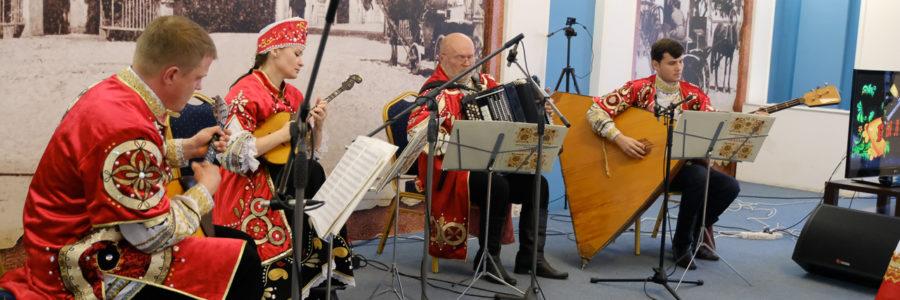 Фотоотчёт юбилейного концерта ансамбля русских народных инструментов «Былина».