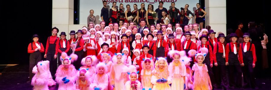 Шоу «Танцующие жизнь»: Астраханский Театр танца и Детская студия коллектива на одной сцене