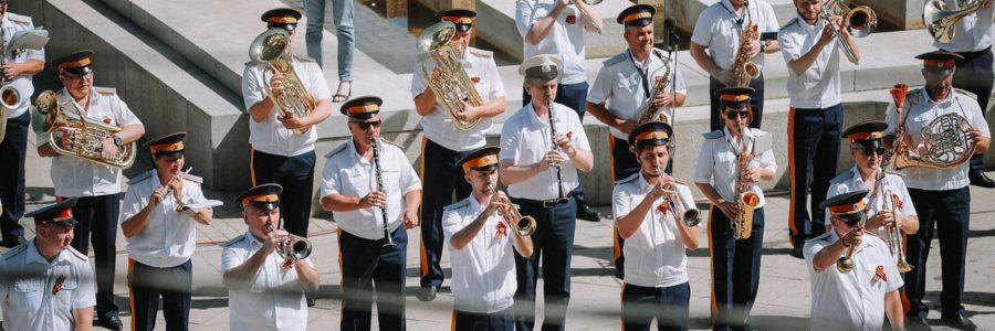 Музыкальная программа ко Дню российского кино в Астраханском кремле