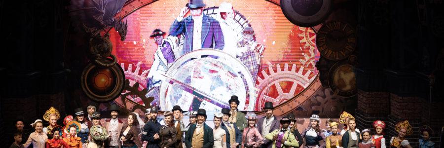 Астраханский Театр танца. Премьера театрализованного шоу «ЗА 80 ДНЕЙ ВОКРУГ СВЕТА»