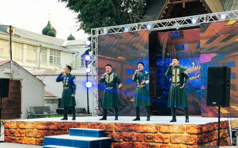 Запись концерта мужского вокального коллектива «Керемет-квартет»